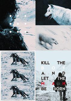 Jon Snow ~ Game of Thrones Fan Art