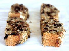 Vegan + Gluten-Free Chocolate Chip Oatmeal Banana Bread