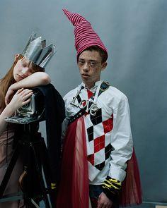 Photography: Tim Walker | Styling: Alice Goddard | Hair: Cyndia Harvey | Make-up: Lucy Burt | Printed by Touch
