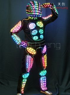 Light Up Dresses, Light Up Clothes, Halloween Costumes Kids Homemade, Halloween Sewing, Led Gloves, Rainbow Costumes, Light Up Costumes, Burning Man Art, Led Costume