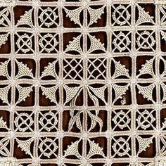Reticello - corso di base by Guiliana Buonpadre of Filo Filò (via Faragóné Szabó, Recevarrás); books and courses: http://www.filofilo.it/eng/