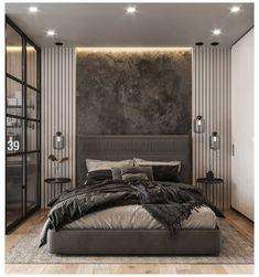 Modern Luxury Bedroom, Luxury Bedroom Design, Master Bedroom Interior, Modern Master Bedroom, Bedroom Furniture Design, Master Bedroom Design, Minimalist Bedroom, Luxurious Bedrooms, Home Interior
