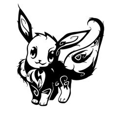 Tribal Eevee Tattoo by ~oykawoo on deviantART