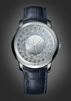 c49a79b709d Vacheron Constantin Traditionnelle World Time Platine Relógios De Luxo