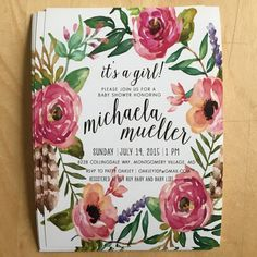 boho baby shower invitation click to shop!