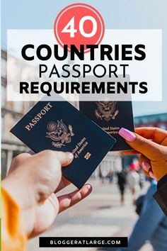 If you're planning an epic trip and need to know how long your passport must be valid in each country, this easy to read post has all the info and links you need. Some countries require 6 months, others 3 months, some just for the duration of your travel Travel Deals, Travel Tips, Travel Essentials, Passport Application, Bucket List Destinations, New Zealand Travel, Cruise Travel, World Traveler
