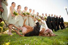 This wedding pup is a happy guy | @Studio EMP Photography. #wedding #pets