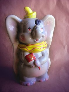 *DUMBO ~ Cookie Jar (Replica 1940s)
