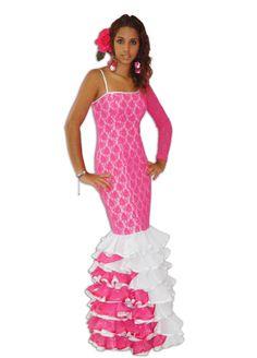 Vestido Flamenco, Victoria Mena, Micaela Villa, Escena multicolor, Ventas Victoria, Formal Dresses, Fashion, Modern Fashion, Scene, Flamingo, Suits, Trends, Dresses For Formal