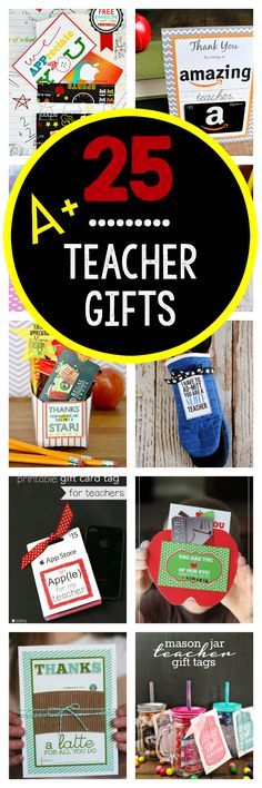 Teacher Appreciation Gifts That Teachers Will Really Love!