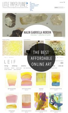 7 Of The Best Affordable Art Sites
