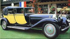The Bugatti - Super Car Center Rolls Royce, Vintage Cars, Antique Cars, Bugatti Royale, Classy Cars, Bugatti Cars, Bugatti Chiron, Classic Motors, Performance Cars
