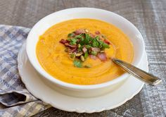 Roasted Butternut Squash, Carrot & Apple Soup – Italian Food Forever