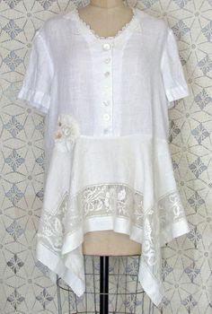 White Linen Tunic