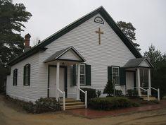 Pinelands United Methodist Church, Pleasant Mills, NJ, circa 1808 by mts83, via Flickr
