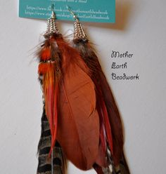 Hey, I found this really awesome Etsy listing at https://www.etsy.com/listing/186337879/beautiful-pheasant-feather-earrings