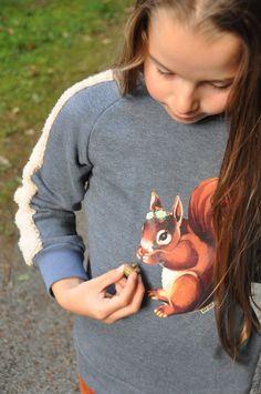 emma en mona: eekhoorntjestrui Die zachte mouwen!