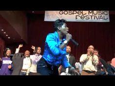 Fantashia at Chicago Gospel Fest 09 (PEOPLE BOMB RUSH STAGE)
