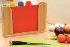 5pc Coloured Chopping Board Set
