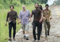 The Walking Dead Season 5 Behind-the-Scenes Photos | We Heart It