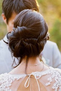 Wedding Up-do... but i seriously doubt you have enough hair for this... i think this is for thick hair?