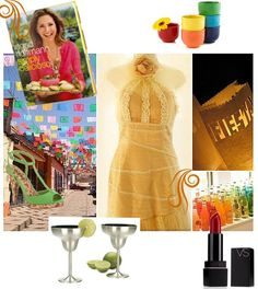 Colorful Mexican Fiesta Theme for any Bridal Shower, Engagement Party Celebration, or Outdoor Wedding via www.InspireTheBride.com
