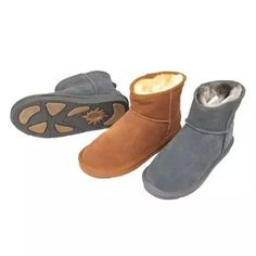 Leather boots for women  Upper: printing on cow-suede Lining: plush Outsole: rubber and EVA  Found at 1926510857@qq.com