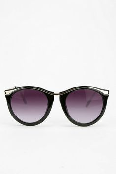 5348def4ab8 Curly Q Round Sunglasses  urbanoutfitters Perfect Wardrobe