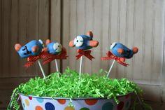 Airplane Cake Pops!