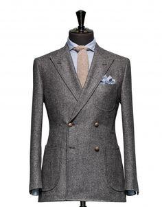 Tailored Jacket - Fabric 7807 Plain Grey
