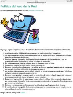 Normas para el uso de las RRSS en el aula.
