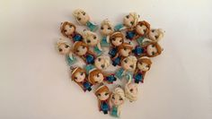 Frozen clay fimo
