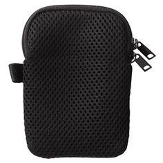 Black mesh padded case Small