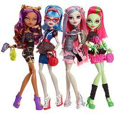 Monster High Ghouls' Night Out Dolls, 4-Pack @ Walmart.com.  Sophia loves anything Monster High!