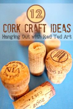 12 Cork Craft Ideas