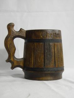 This handcrafted beer mug is made from real  wood.The inside of mug of stainless steel.Can be used for hot and cold drinks.volume 22 ouncesheight 6 inchesDiameter 5 inchesIf you wish to...