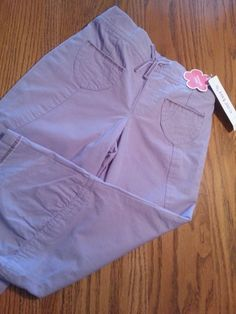 Carters Girls Lilac Light Purple Lavender Capris Pants New Sz 4T NWT Spring CUTE #Carters #Pants #Everyday eBay item number:  161582858816