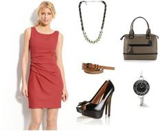 Get the look - office chic.