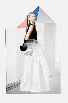 Fashion Editorial: Theories of Evolution by BULLETT Fashion Collages: Meriç Canatan.Stylist: Esra Dandin.Photographer: Osman Özel.Model: ...