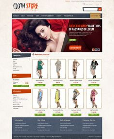 PRS050111 - Premium PrestaShop Clothes Store Theme