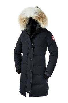 Canada Goose - Shelburne Parka. Love the black, navy, and grey colors.