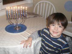 Hanukkah with kids...craft ideas, games, story, etc.