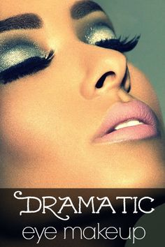 Dramatic eye makeup ideas that are worth trying once!