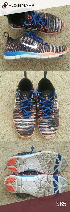 Selling this Nike Free TR FIT 4 women's size 5 on Poshmark! My username is: elaw2017. #shopmycloset #poshmark #fashion #shopping #style #forsale #Nike #Shoes