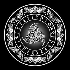 Viking Apparel that is inspired by Vikings and with Viking design, Now there's nothing stopping you from looking like a modern day Viking! Norse Pagan, Viking Symbols, Viking Runes, Norse Tattoo, Celtic Tattoos, Viking Tattoos For Men, Celtic Tribal, Celtic Art, Body Art Tattoos