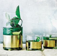 Gwyneth Paltrow's It's All Easy: Lemongrass and mint tisane | Daily Mail Online