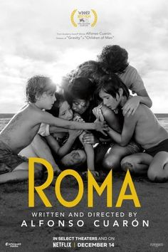 Roma is from Academy Award winner Alfonso Cuarón, director of Gravity and Children Of Men. Best Movies List, Top Movies, Drama Movies, Movies And Tv Shows, Drama Film, Films Netflix, Netflix Movies To Watch, Good Movies To Watch, Netflix Gift