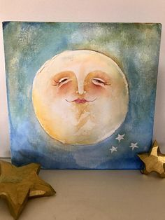 Nursery Art Moon for Nursery Moon Wall Hanging Moon Art