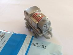 2016 Wave 4 Thomas & Friends Minis Platinum Thomas #51