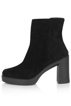 HEDGEHOG Inside Zip Ankle Boots